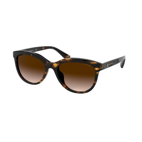 Coach HC8285U 512013 56 Dark Tortoise Woman Pillow Sunglasses