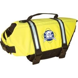 Safety Neon Yellow - Paws Aboard Doggy Life Jacket Large