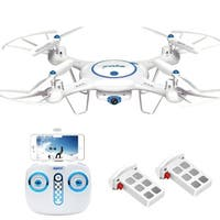 Syma X5UW Wifi FPV Drone with 720P HD Camera Extra Battery - N/A