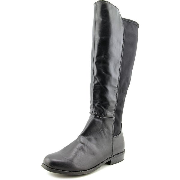 Rampage Ivory Women Round Toe Synthetic Black Knee High Boot