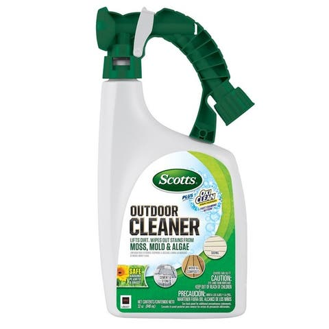 Scotts 51062 Plus Oxi Outdoor Cleaner, 32 Oz