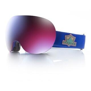 Native Eyewear 2017 Backbowl Ski Goggle - Ranger Strap/Blue Mirror Lens - 412 641 002