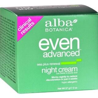 Alba Botanica - Natural Even Advanced Sea Plus Renewal Night Cream ( 1 - 2 OZ)