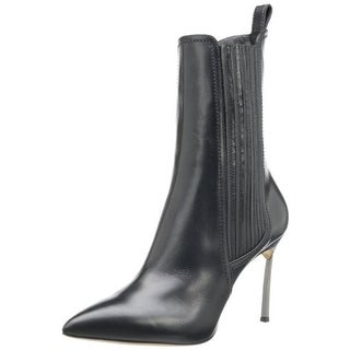 Casadei Womens Sweet Leather Pointed Toe Ankle Boots - 7.5 medium (b,m)
