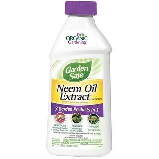 Garden Safe HG-93179 Neem Oil Extract Concentrate, 16 fl oz
