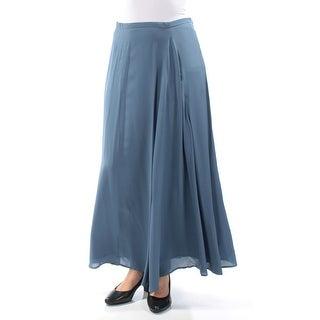 Womens Blue Maxi A-Line Skirt Size 6