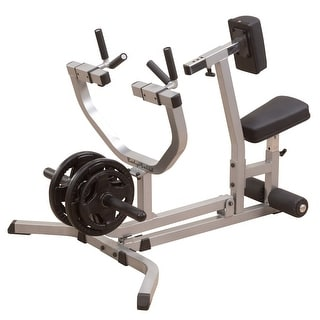 Body-Solid Seated Row Machine - Black