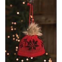 Red Beanie Ornament