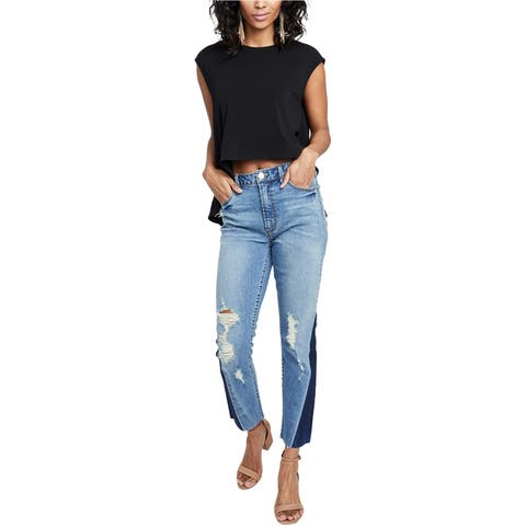 Rachel Roy Womens Slim Ankle Cropped Jeans