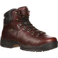 "Rocky Men's 5"" MobiLite 7114 Boot Deer Brown Soggy Leather"