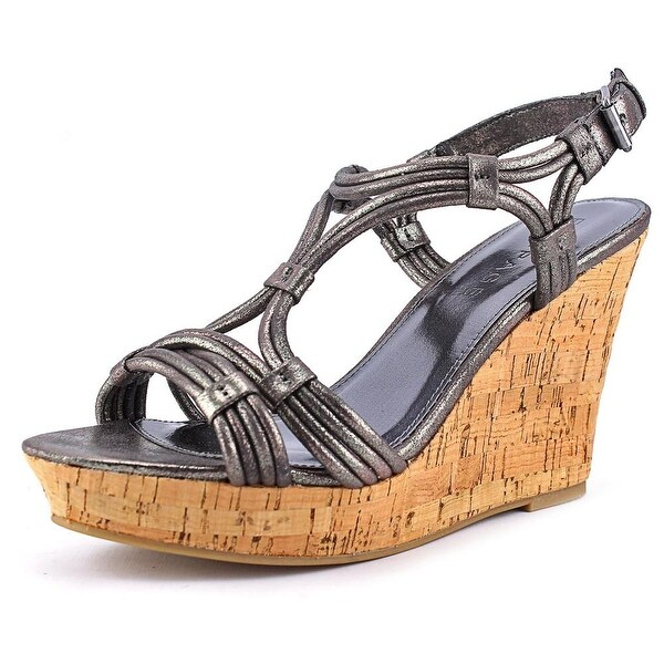 Rampage Cammer Women  Open Toe Synthetic Gray Wedge Sandal