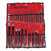 Perform Tool W754 Punch & Chisel set - 28 Pieces