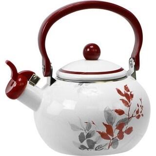 Reston Lloyd 36256 2 qt Kyoto Leaves Teakettle