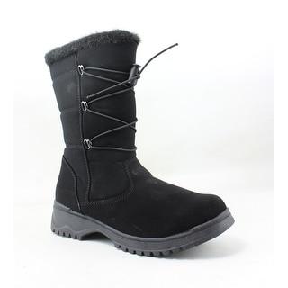 Tundra Womens Lacie Black Snow Boots Size 6