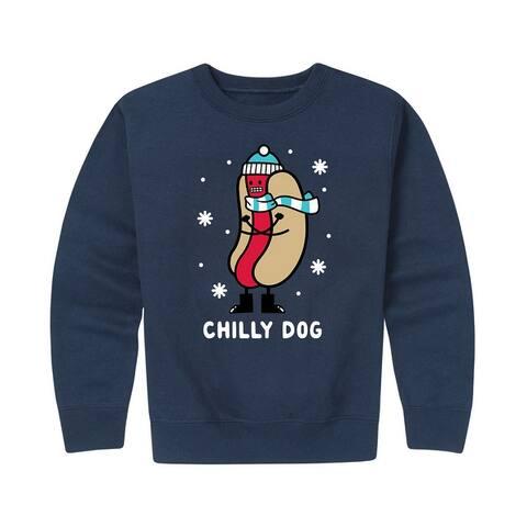 Chilly Dog - Kids Crew Fleece