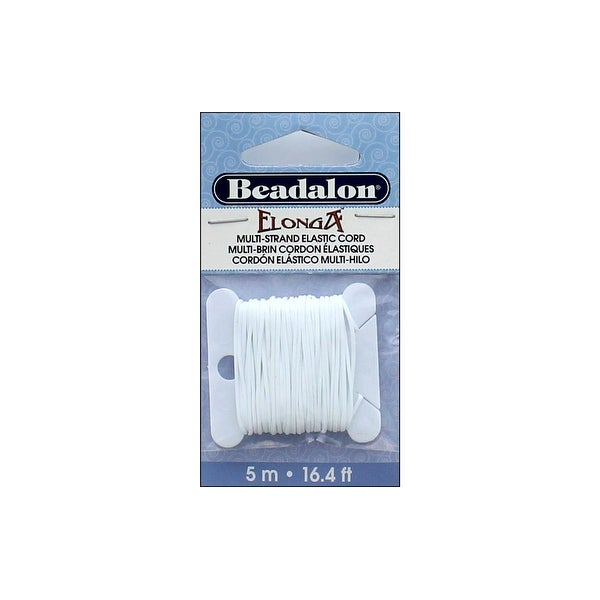 Beadalon Elonga Stretch Bead Cord .7mm 16.4' Clear