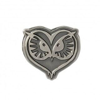 Harry Potter Fantastic Beasts Pewter Lapel Pin Owl Head