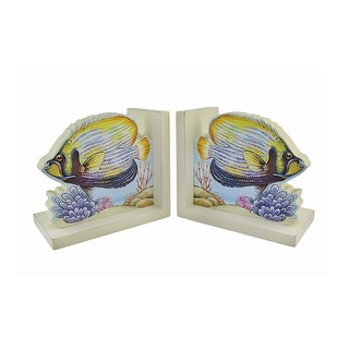 Decorative Tropical Fish Bookends