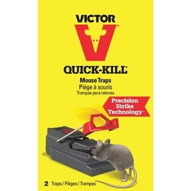 Victor 2Pk Quick-Kil Mouse Trap