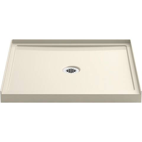 """Kohler K-8644 Rely 36"""" x 34"""" Square Shower Base with Single Threshold and Center Drain"""