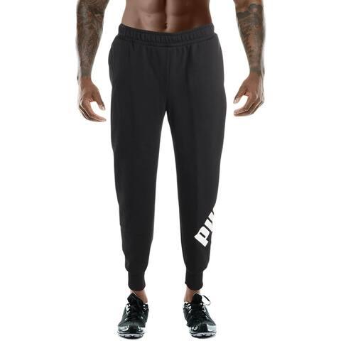 Puma Mens Big Logo Pant Sweatpants Lounge Athleisure