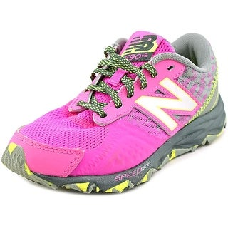 New Balance KT690 Youth Round Toe Synthetic Sneakers
