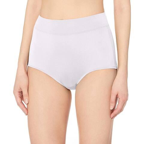 Warner's Women's No Pinching No Problems Modern Brief Panty, Sand, 7