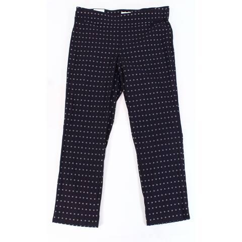 Charter Club Womens Pants Blue Size 20W Plus Slim Waist-Smooth Stretch