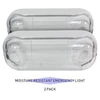 eTopLighting 12 LED Ultra Bright Emergency Light - Standard Circle Head - White