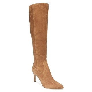 Sam Edelman Womens Olencia Suede Pointed Toe Knee High Fashion Boots