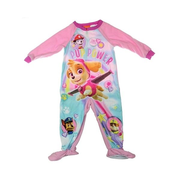 4900a78f3dbf Shop Nickelodeon Paw Patrol Footed Pajamas Toddler Fleece - 3t ...