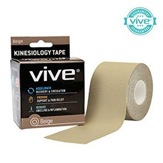 VIVE Health Kinesiology Tape Cotton for Sports Injuries