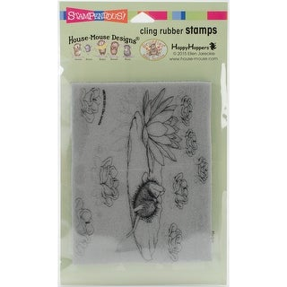 "Stampendous House Mouse Cling Stamp 4""X6""-Lily Pad Life"