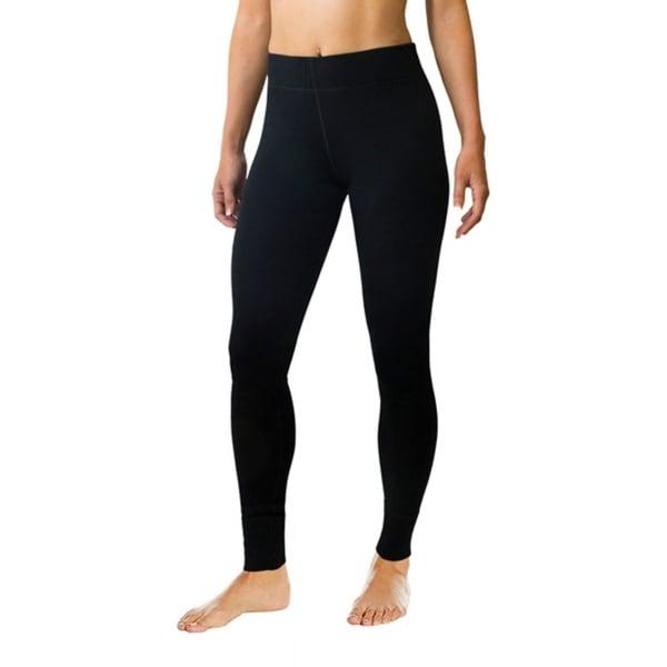 Woman Warm Legging Underwear Brushed Fleece with Stretch Panel