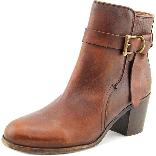 Frye Malorie Knotted Short Women  Round Toe Leather  Ankle Boot