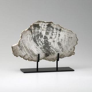 "Cyan Design 2600 12.25"" Large Petrified Wood On Stand"