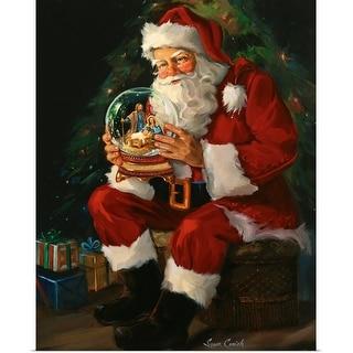 """""""Santa Believes"""" Poster Print"""