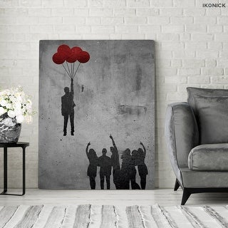 IKONICK No Ceilings Canvas Art