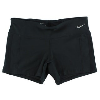 Nike Womens Dri Fit Running Shorts Black