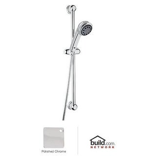 Rohl D800/1N Bossini Multi Function Hand Shower with Slide Bar and Hose