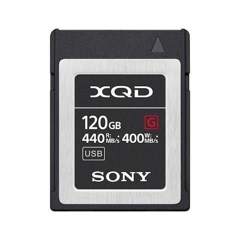 Sony Professional XQD G-Series 120GB Memory Card (QD-G120F)