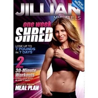 Jillian Michaels: One Week Shred - DVD