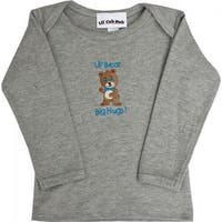 4CLSTBBG-1218 Grey Long Sleeve T-Shirt - Boy Bear, 12-18 months
