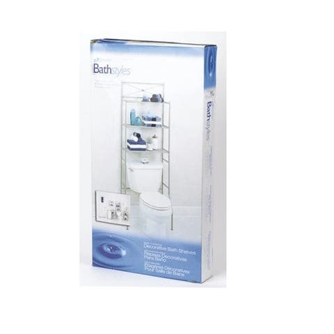 Zenith 2523NN Spacesaver Bathroom Shelf, Chrome