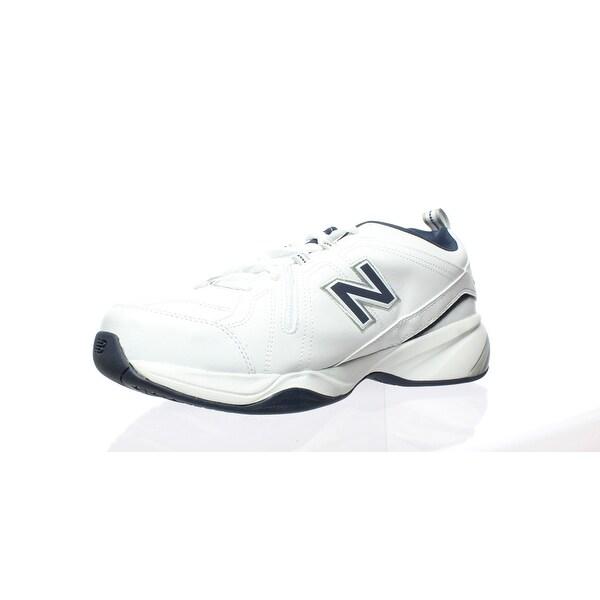White Cross Training Shoes Size