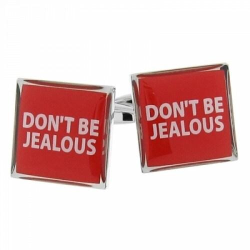Don't Be Jealous Cufflinks