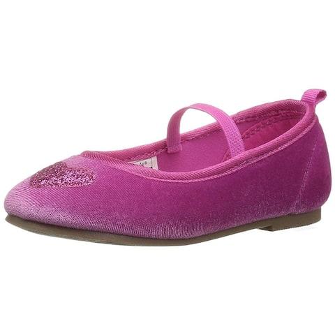 Kids Carter's Girls Alvina2 Slip On Mary Jane Flats