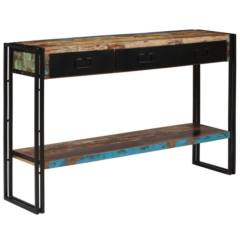 vidaXL  Console Table Solid Reclaimed Wood 47.2 inchx11.8 inchx29.9 inch