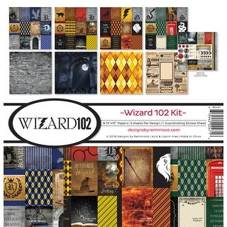 """Wizard 102 - Reminisce Collection Kit 12""""X12"""""""