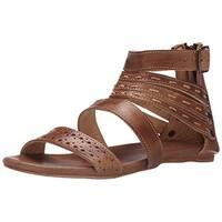 BedStu Women's Artemis Dress Sandal, Tan Rustic, 10 M US
